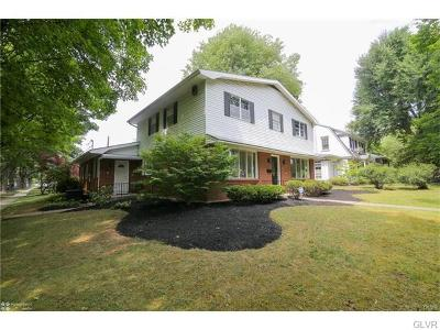 Allentown City Single Family Home Available: 2745 West Washington Street