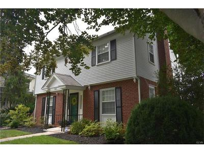 Allentown City Single Family Home Available: 526 North 27th Street