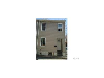 Allentown City Multi Family Home Available: 439 North Hall Street