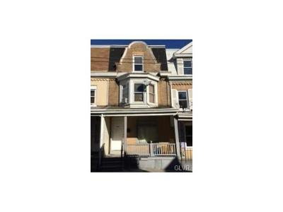 Allentown City Single Family Home Available: 531 North Penn Street