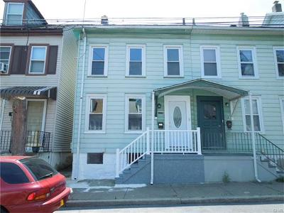 Easton Single Family Home Available: 704 West Wilkes Barre Street
