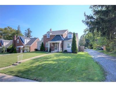 Allentown City Single Family Home Available: 27 South 25th Street