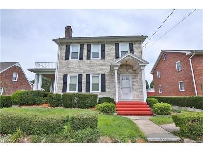 Bethlehem City Single Family Home Avail w/Contingency: 309 Hamilton Avenue