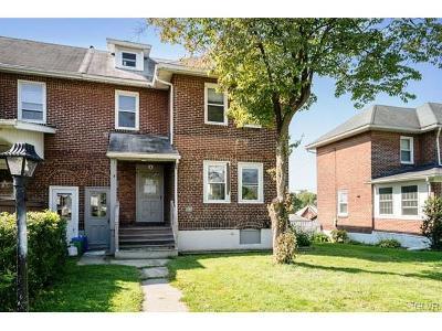 Bethlehem City Single Family Home Available: 824 Radclyffe Street