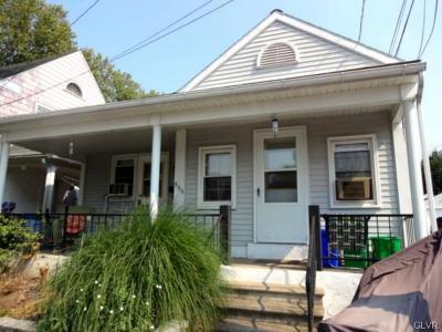 Bethlehem City Single Family Home Available: 555 East Garrison Street