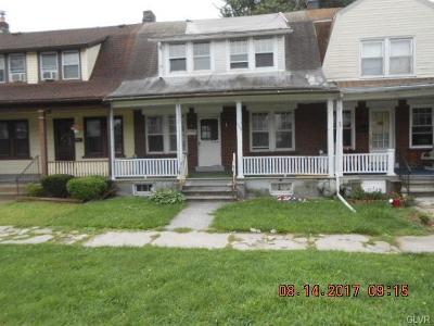 Bethlehem City Single Family Home Available: 1755 West Broad Street