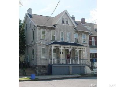 Bethlehem City Single Family Home Available: 714 High Street #1A