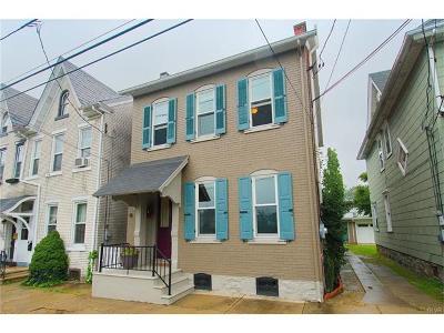 Bethlehem City Single Family Home Available: 231 East Garrison Street