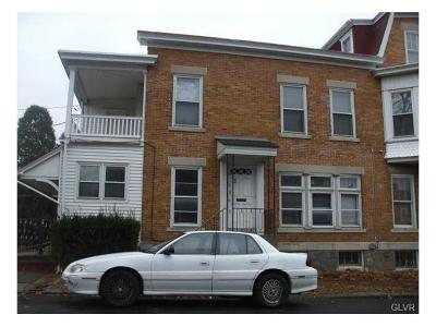 Allentown City Single Family Home Available: 1602 West Chew Street #2
