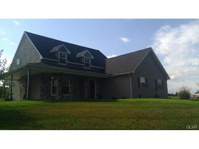 Lehigh County Single Family Home Available: 7780 Allemaengel Road