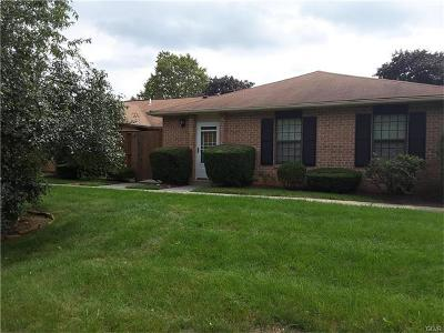 Lehigh County Single Family Home Available: 2782 Rolling Green Place