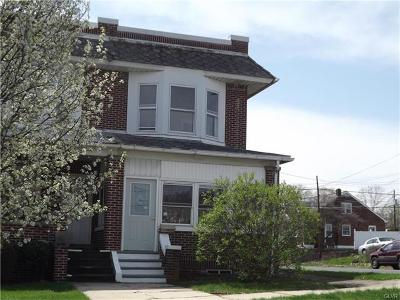 Allentown City Single Family Home Available: 1052 North 19th Street