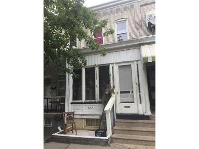 Allentown City Single Family Home Avail w/Contingency: 427 North 16th Street