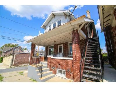 Lehigh County Single Family Home Available: 917 South 7th Street