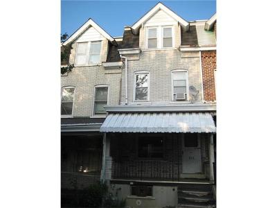 Allentown City Single Family Home Available: 649 North 16th Street
