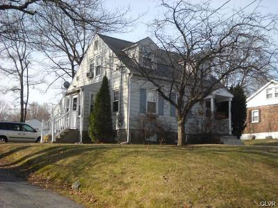 Northampton County Single Family Home Available: 828 Broadway