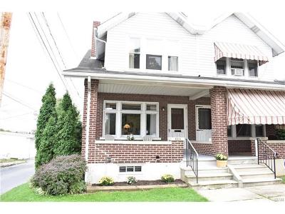 Allentown City PA Single Family Home Available: $128,000