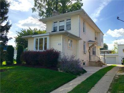 Allentown City PA Single Family Home Available: $149,900