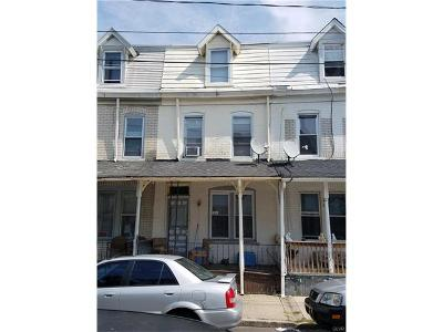 Allentown City PA Single Family Home Available: $72,500