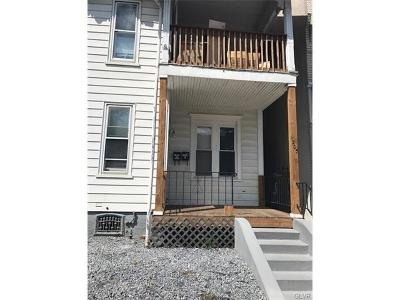 Allentown City PA Single Family Home Available: $850