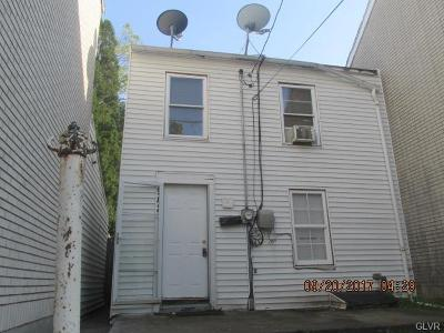 Allentown City PA Single Family Home Available: $34,000