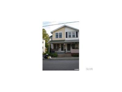 Emmaus Borough Single Family Home Available: 32 North 2nd Street