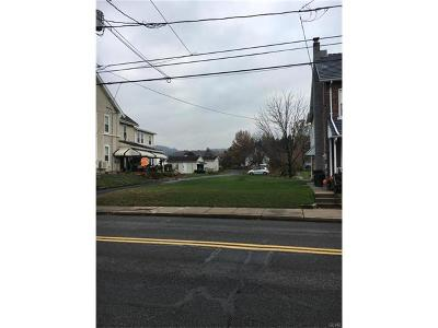 Emmaus Borough Residential Lots & Land Available: 630 Chestnut Street
