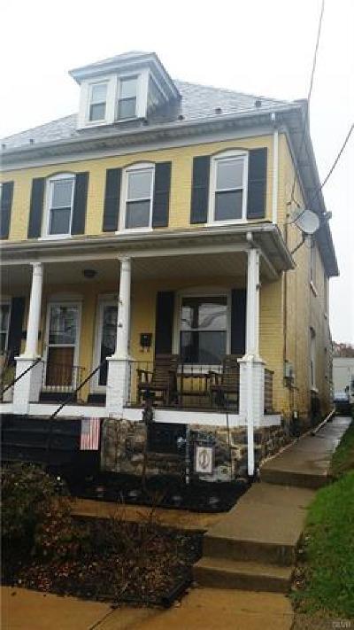 Easton PA Single Family Home Available: $129,000