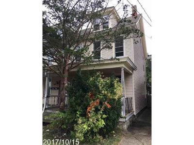 Easton PA Single Family Home Available: $54,900