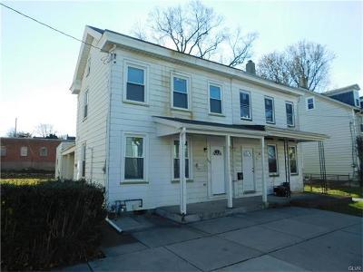 Easton PA Single Family Home Available: $119,800