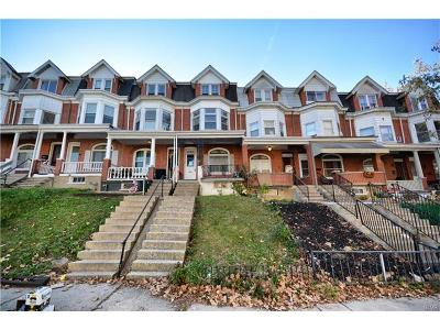 Allentown City PA Single Family Home Available: $115,000