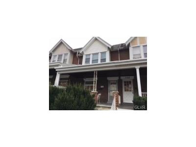 Allentown City PA Single Family Home Available: $89,900