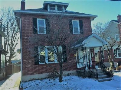 Emmaus Borough Single Family Home Available: 314 North 5th Street