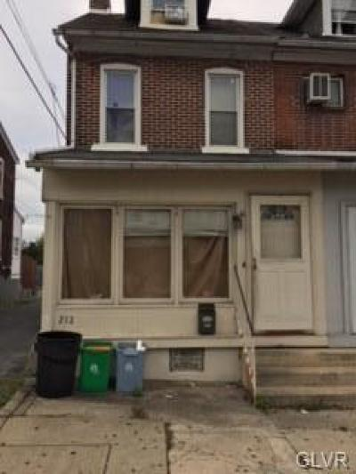 Single Family Home Available: 212 South Carlisle Street