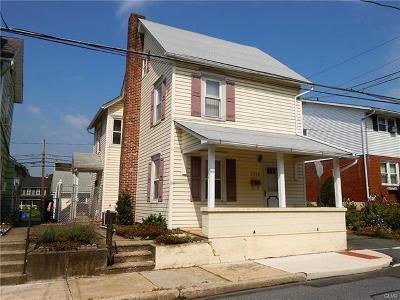 Northampton Borough PA Single Family Home Available: $199,900