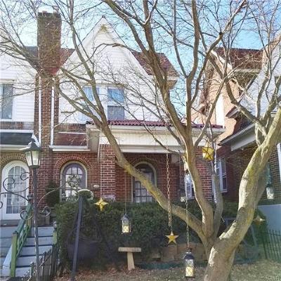 Bethlehem City Single Family Home Available: 1733 West North Street