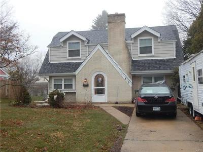 Emmaus Borough PA Single Family Home Available: $215,000