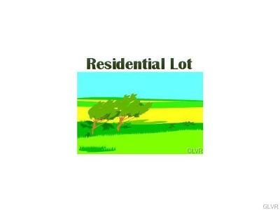 Hellertown Borough Residential Lots & Land Available: 143 Ackerman Street