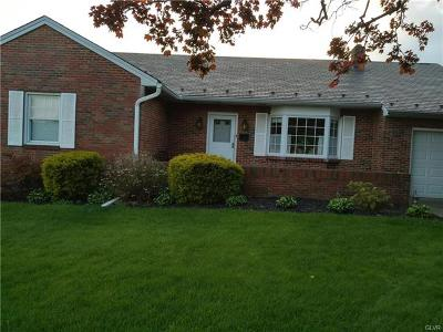 Hellertown Borough Single Family Home Available: 1370 3rd Avenue