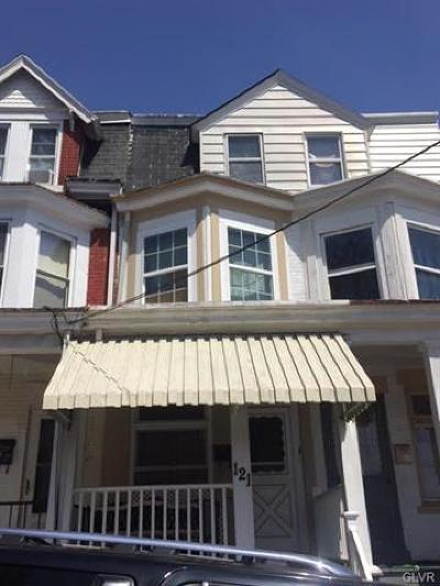 Multi Family Home Available: 121 South Jefferson Street