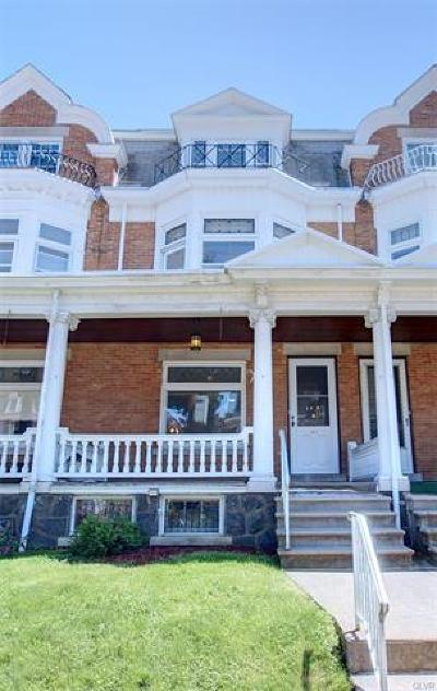 Single Family Home Available: 1612 West Chew Street West