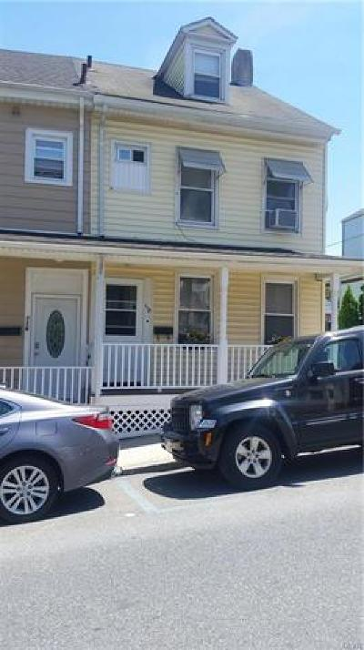 Single Family Home Available: 118 South 11th Street