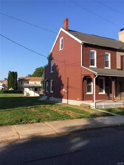 Emmaus Borough Single Family Home Available: 123 Macungie Avenue