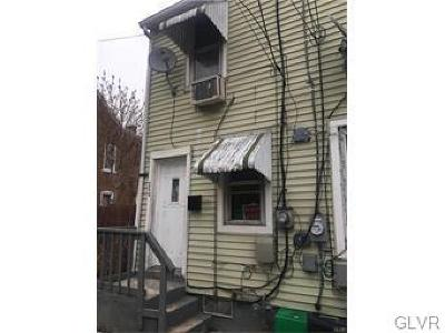 Allentown City Single Family Home Available: 331 Grant Street