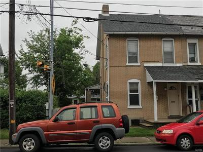 Multi Family Home Available: 1034 Lehigh Street