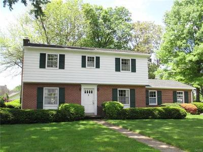 Emmaus Borough Single Family Home Available: 1104 Harris Drive