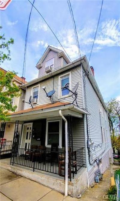 Bethlehem City Multi Family Home Available: 1407 East 6th Street