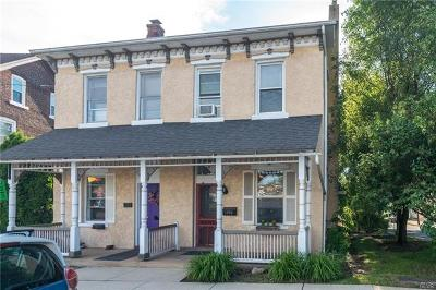 Hellertown Borough Single Family Home Available: 1190 Main Street