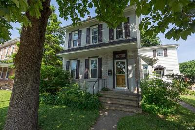 Coopersburg Borough Single Family Home Available: 219 North Main Street