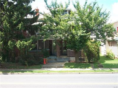 Allentown City Single Family Home Available: 762 North Irving Street